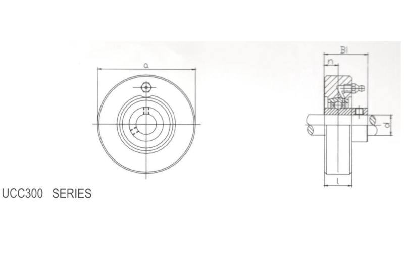 Cylindrical Cartridge UCC305