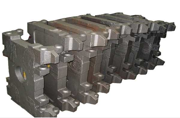 Casting metallurgical equipment accessories fixed frame 2